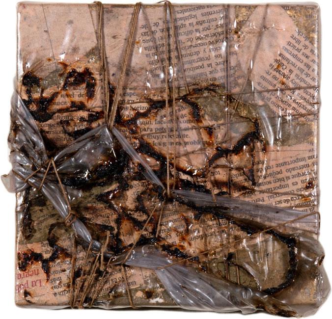CONFINI II - Incisione su legno (15 x 15 cm)